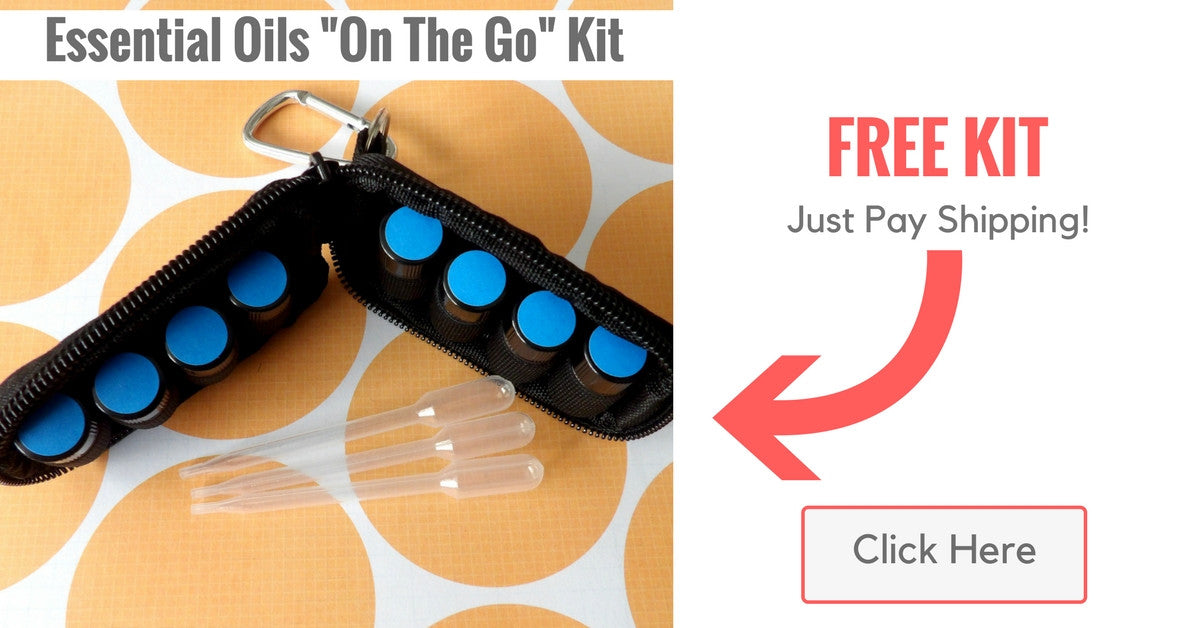 Essential Oils Kit - On The Go Free Just Pay Shipping