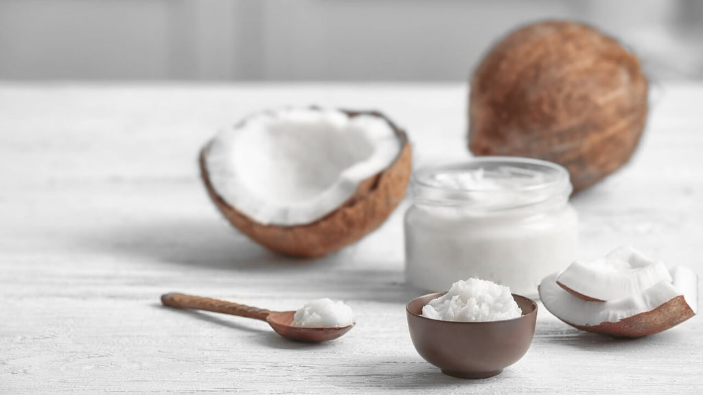 Frationated Coconut Oil and Virgin Coconut Oil by Loving Essential Oils
