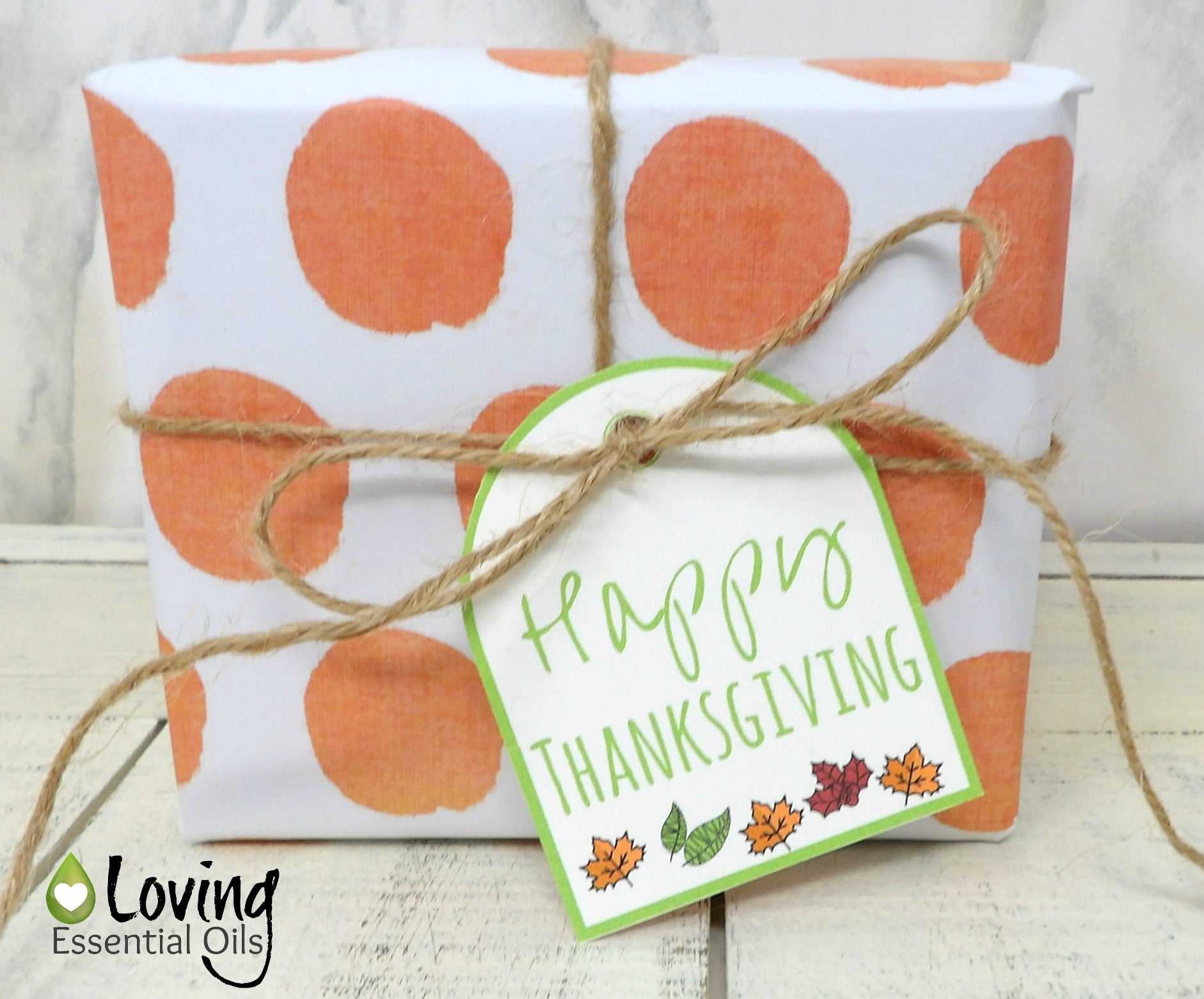 photograph regarding Free Printable Thanksgiving Tags named Free of charge Printable Thanksgiving Present Tags Loving Important Oils