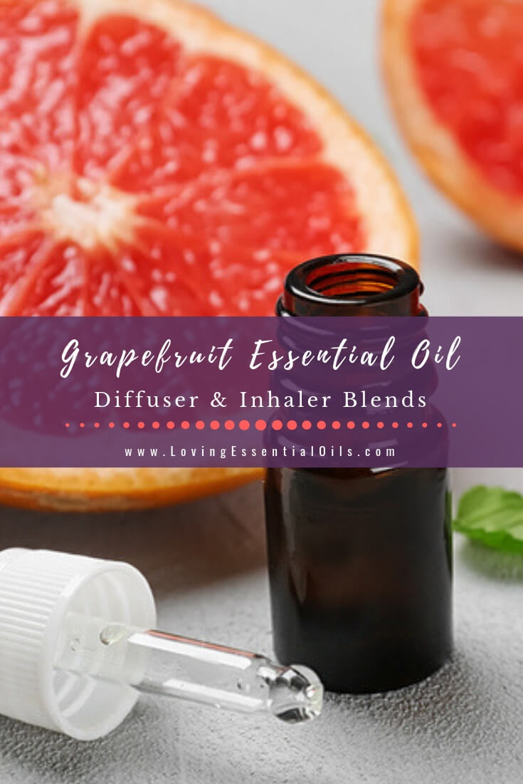 10 Delightful Grapefruit Essential Oil Blends For You by Loving Essential Oils