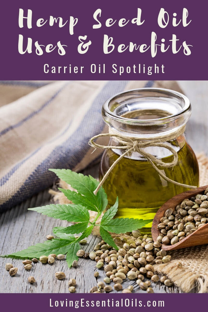 Hemp Seed Oil Uses and Benefits - Carrier Oil Spotlight by Loving Essential Oils