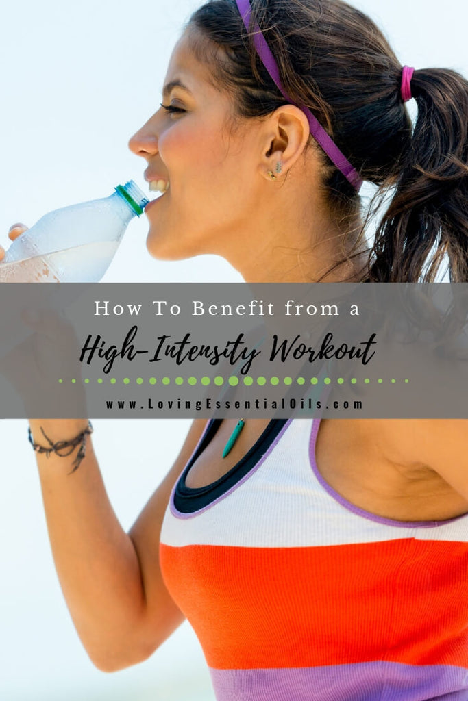 How To Benefit from a High-Intensity Workout by Loving Essential Oils