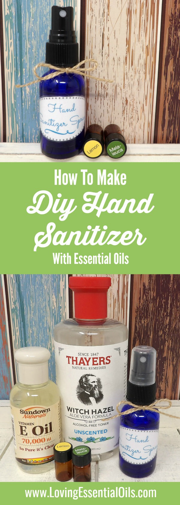 How To Make Hand Sanitizer Spray With Essential Oils