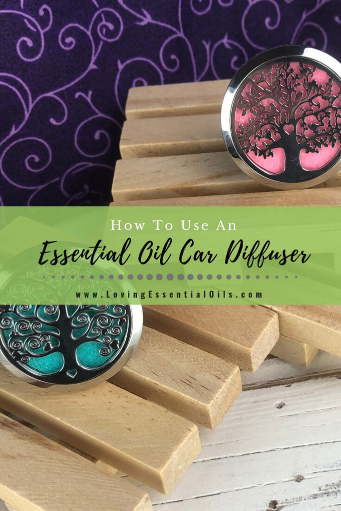 How to Use an Essential Oil Car Diffuser by Loving Essential Oils