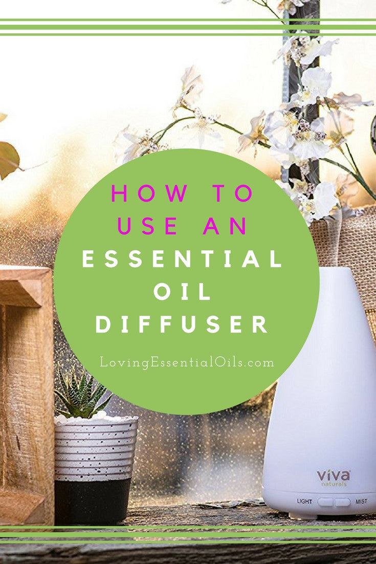 How To Use An Essential Oil Diffuser Like An Expert