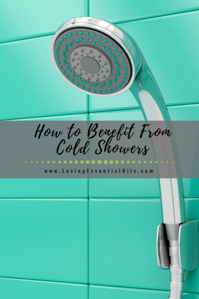 How to Benefit From Cold Showers by Loving Essential Oils