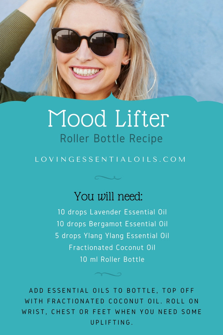Mood Lifter Essential Oil Roller Bottle Recipes