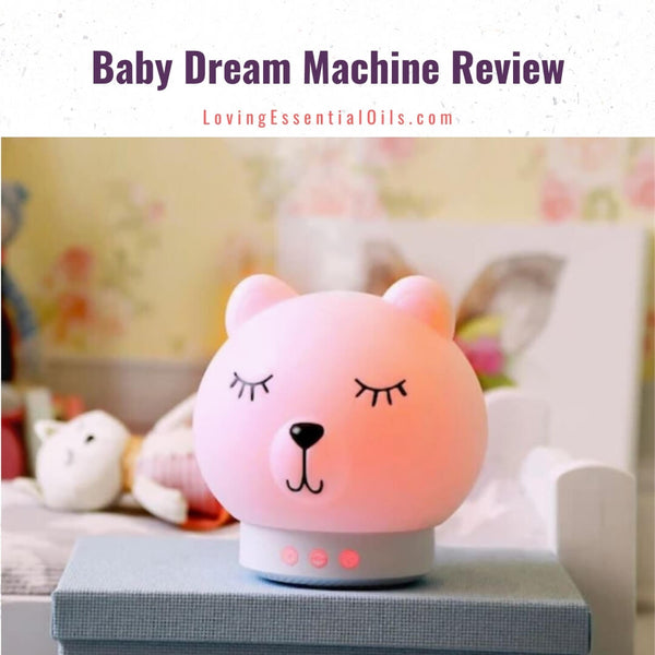 Pink Noise Machine for Babies - The Baby Dream Machine Review by Loving Essential Oils