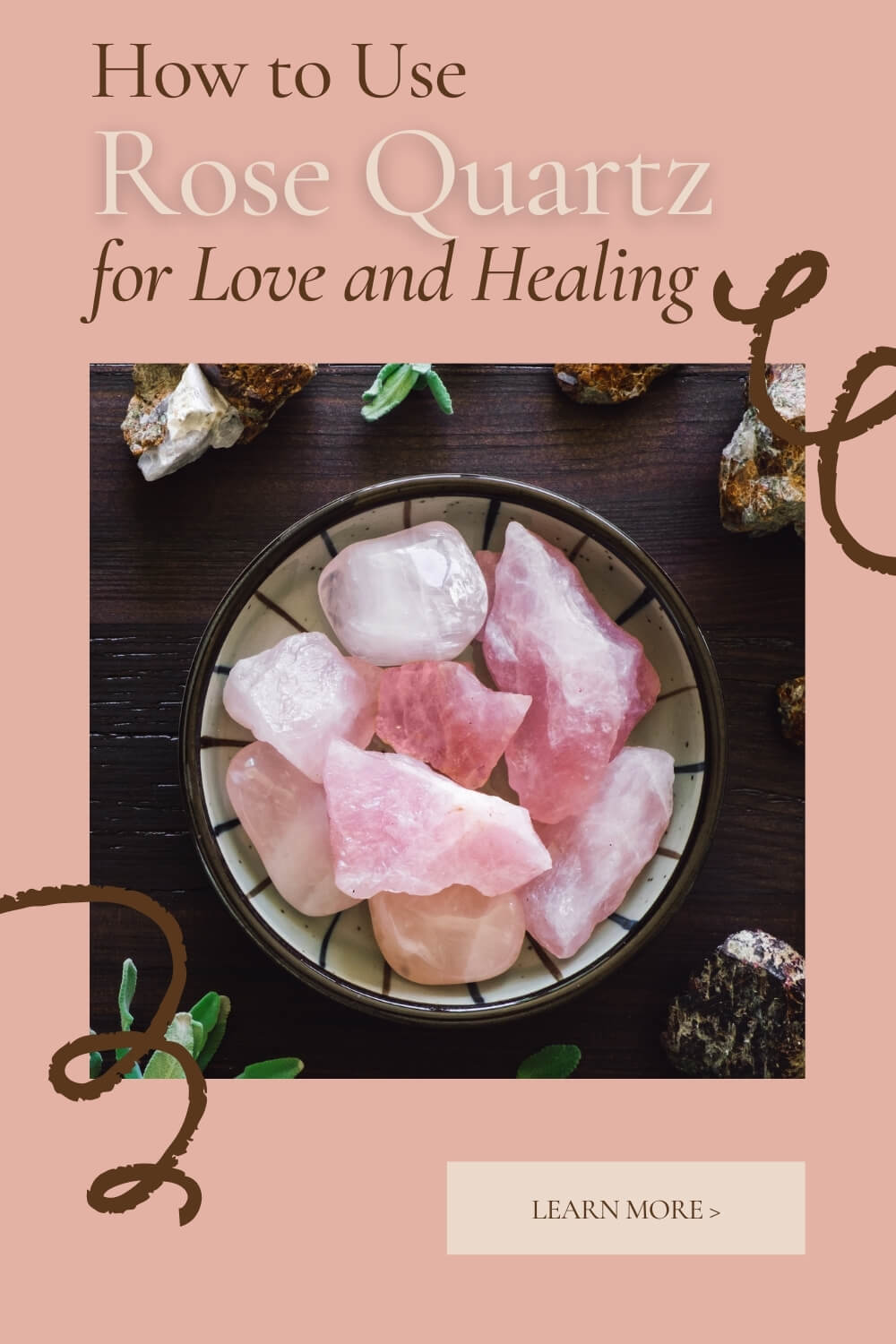 Rose Quartz healing properties by Loving Essential Oils
