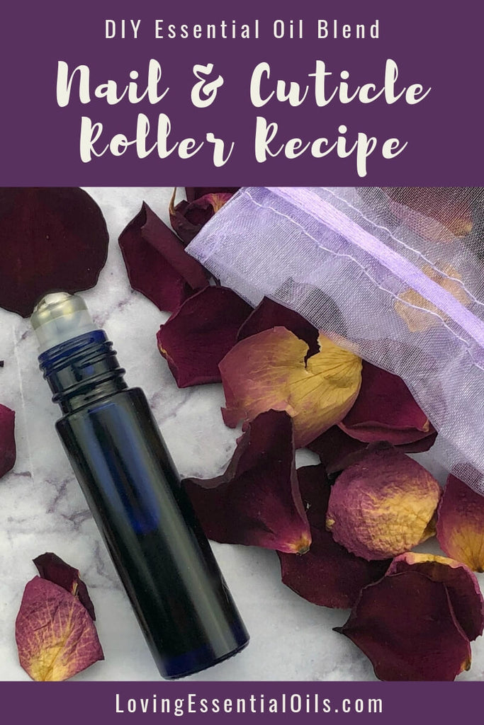 DIY Rosehip Oil Recipe for Nails and Cuticles with Essential Oils by Loving Essential Oils