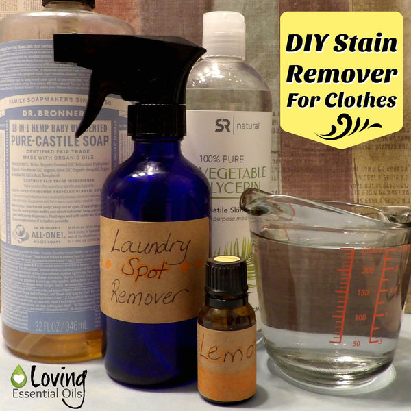 DIY Stain Remover For Clothes