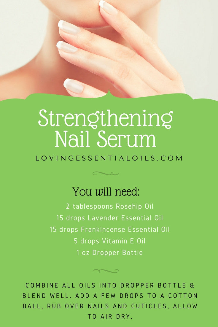 Strengthening Nail Serum With Essential Oils Recipe