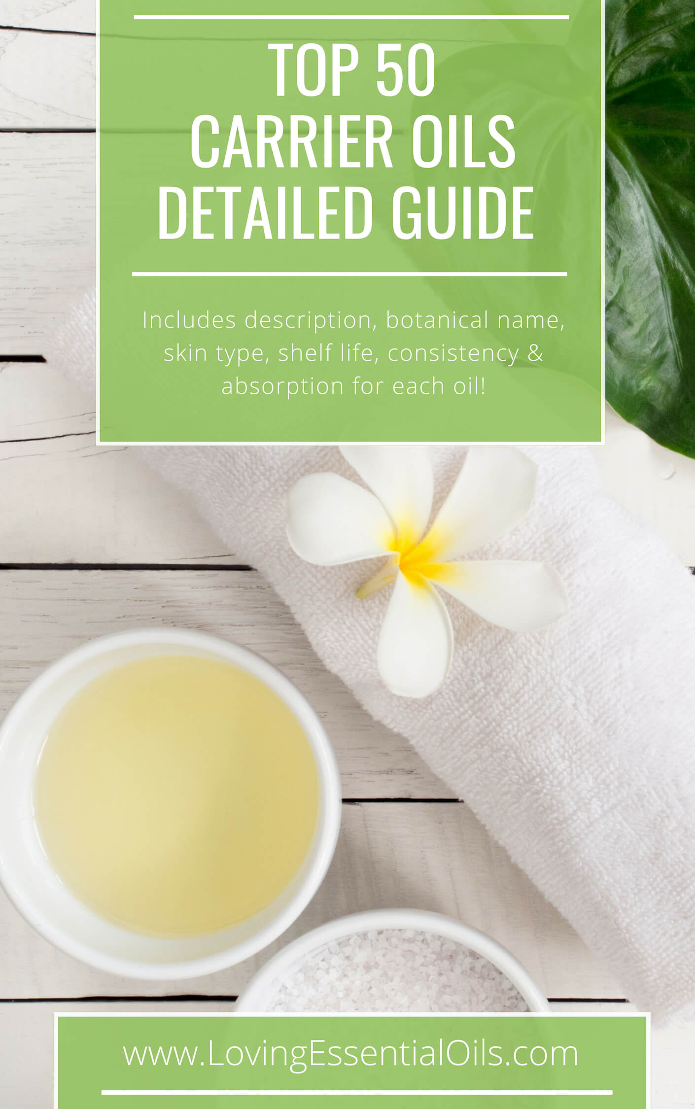 Carrier Oils for Essential oils - Free Detailed Guide by Loving Essential Oils