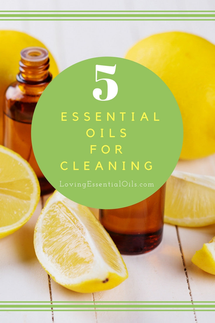 Top 5 Essential Oils for Cleaning
