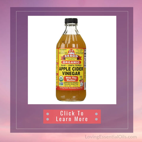 Apple Cider Vinegar Lavender Hair Rinse | Bragg Apple cider Vinegar
