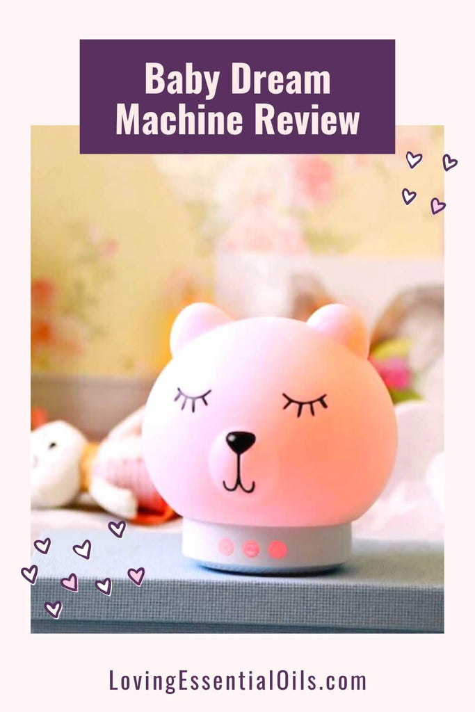 The Baby Dream Machine for sleep and aromatherapy by Loving Essential Oils