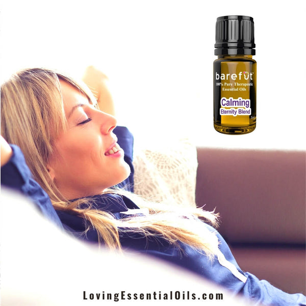 Barefut Calming Essential Oil - Eternity Blend Review by Loving Essential Oils | Feel relaxed and peaceful!