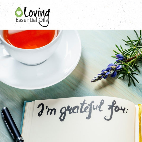 Benefits of Gratitude Journaling by Loving Essential Oils