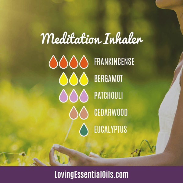 Benefits of Meditating - Meditation Inhaler Essential Oil Blend by Loving Essential Oils