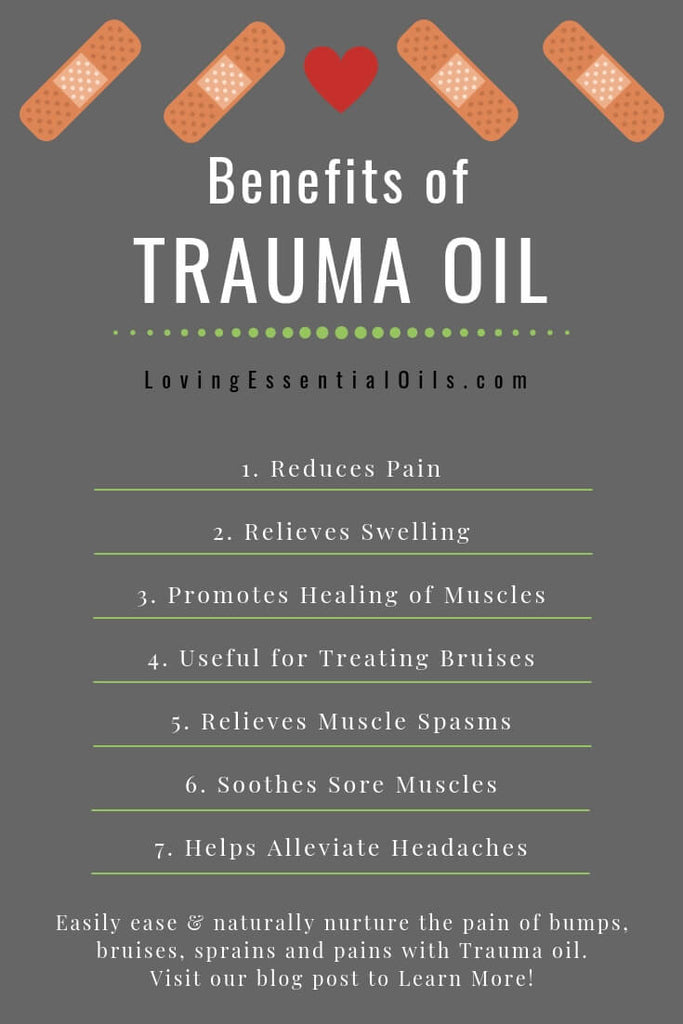 benefits of trauma oil image for pinterest