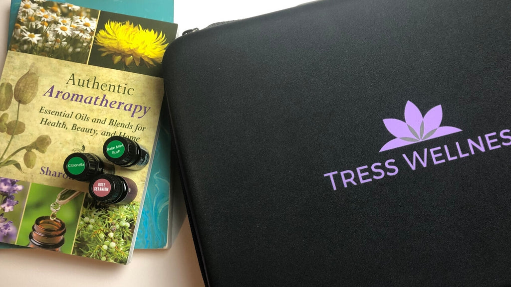 best essential oil cases tress wellness review