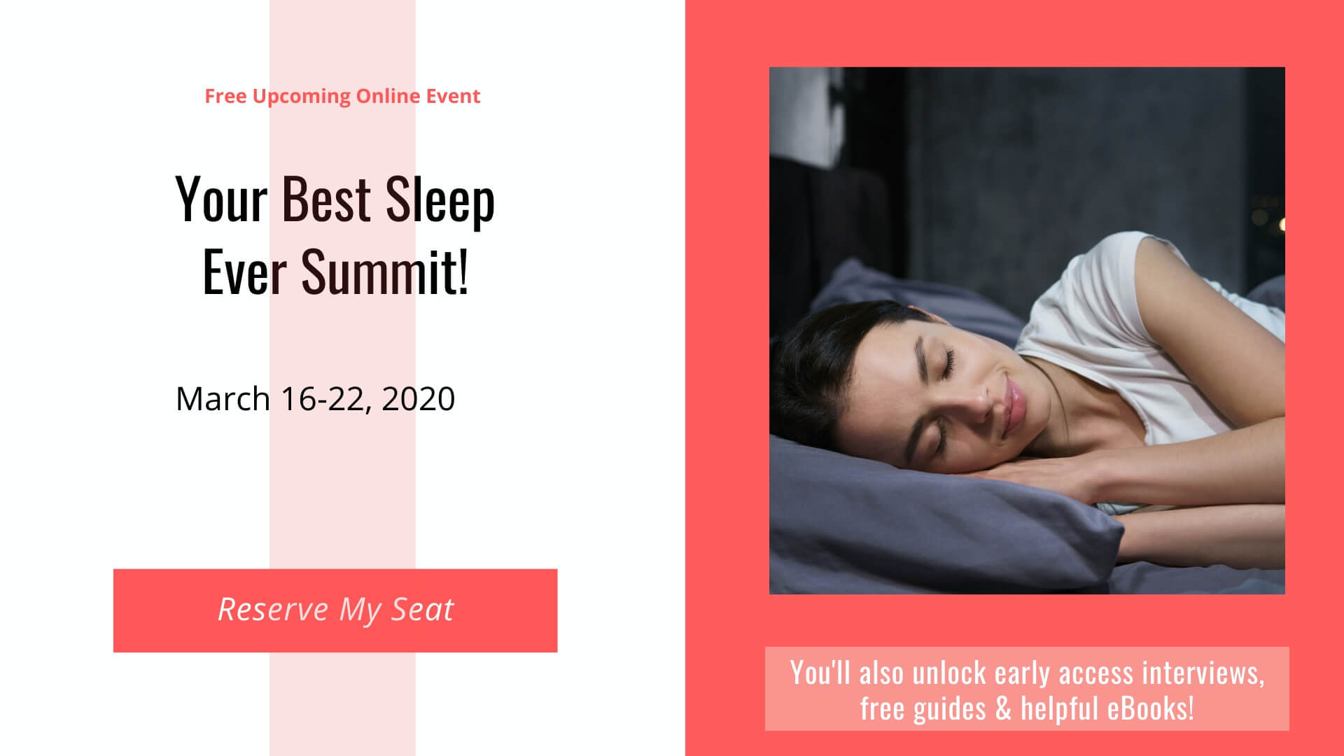 Best Sleep Ever Summit