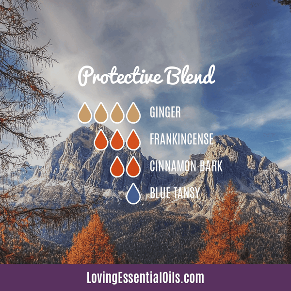 Blue Tansy Essential Oil Uses, Beneifts & Recipes - Protective Blend Diffuser Blend by Loving Essential Oils