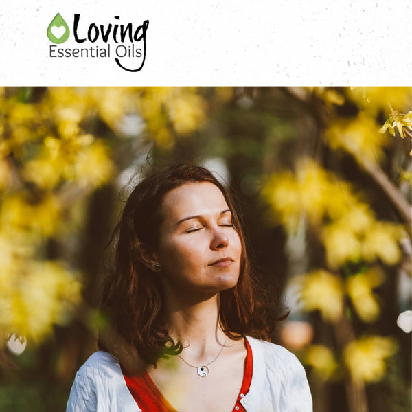 Calming Oil Blend from Barefut Review by Loving Essential Oils | Inahle the scent of peace and calming!