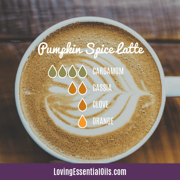Cassia Essential Oil Uses, Benefits & Recipes - EO Spotlight by Loving Essential Oils | Cassia Diffuser Blends Pumpkin Spice Latte with cardamom, cassia, clove and orange