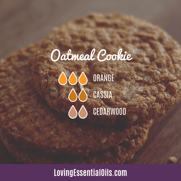 Cassia Essential Oil Uses, Benefits & Recipes - EO Spotlight by Loving Essential Oils | Cassia Diffuser Blends Oatmeal Cookie with orange, cassia, and cedarwood