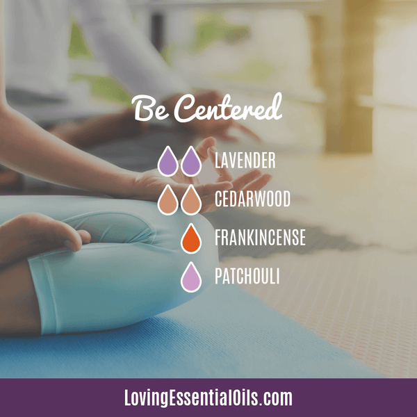 10 Cedarwood Diffuser Blends - Calm Stress and Gain Confidence by Loving Essential Oils | Be Centered with lavender, cedarwood, frankincense, and patchouli