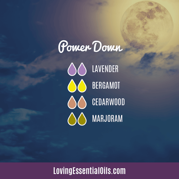 10 Cedarwood Diffuser Blends - Calm Stress and Gain Confidence by Loving Essential Oils | Power Down with lavender, bergamor, cedarwood, and marjoram