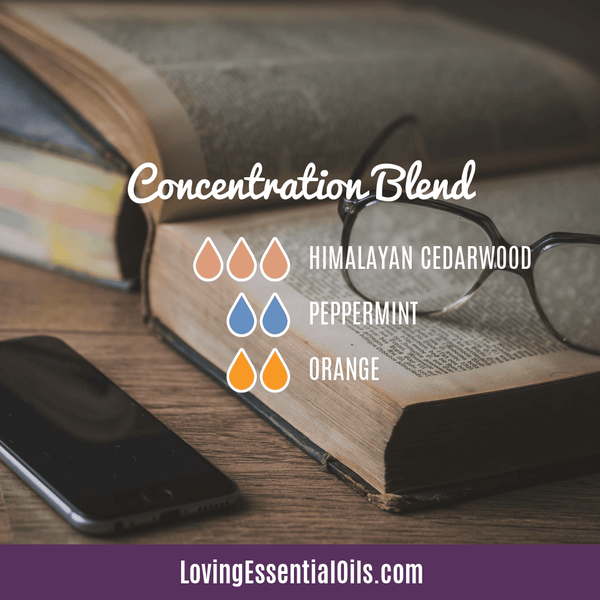 Cedarwood Essential Oil Concentration Blend by Loving Essential Oils