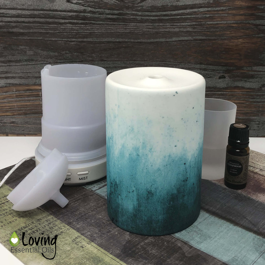 Ceramic Essential Oil Diffuser - Do's & Don'ts of Diffusing by Loving Essential Oils