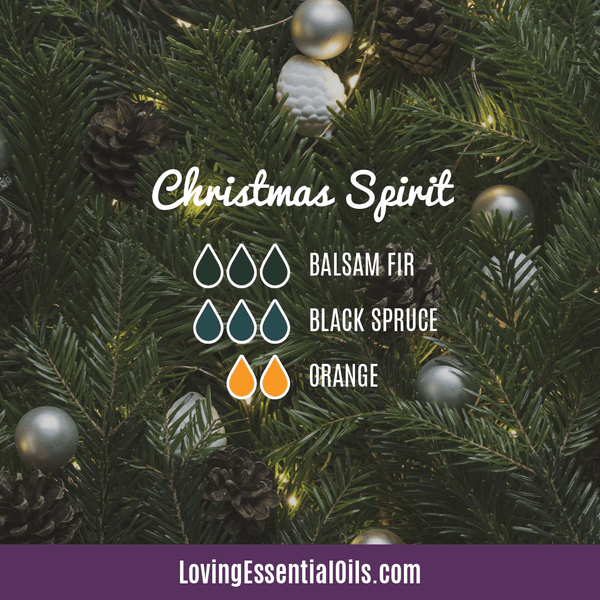 Christmas Spirit Essential Oil Blend - Use in your diffuser!