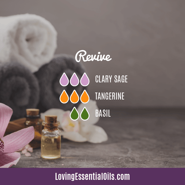 Clary Sage Essential Oil Uses, Benefits & Recipes - EO Spotlight - Revive Diffuser Blend by Loving Essential Oils