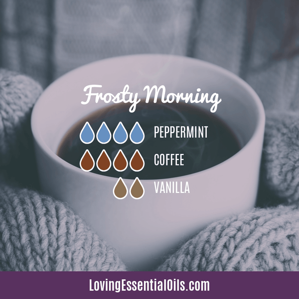 Coffee Essential Oil Uses, Benefits & Recipes - Frosty Morning Diffuser Blend - EO Spotlight by Loving Essential Oils