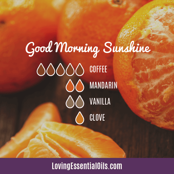 Coffee Essential Oil Uses, Benefits & Recipes - Good Morning Sunshine Diffuser Blend - EO Spotlight by Loving Essential Oils