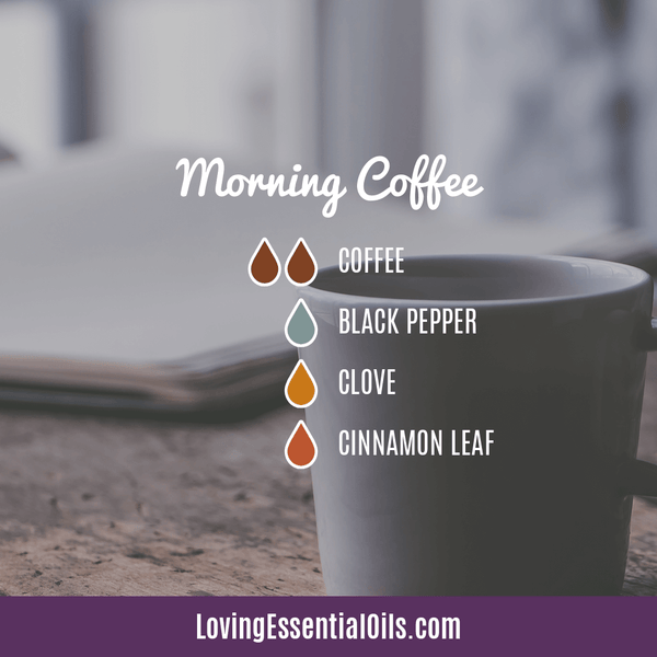 Coffee Essential Oil Uses, Benefits & Recipes - Morning Coffee Diffuser Blend - EO Spotlight by Loving Essential Oils