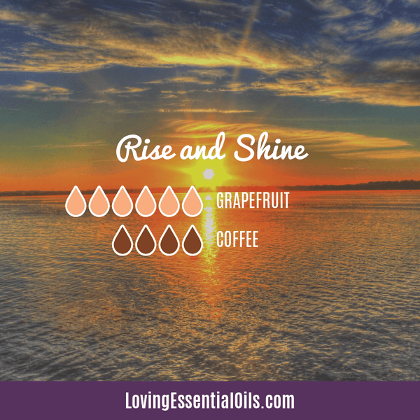 Coffee Essential Oil Uses, Benefits & Recipes - Rise and Shine Diffuser Blend - EO Spotlight by Loving Essential Oils