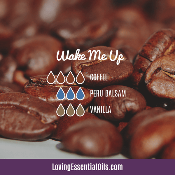 Coffee Essential Oil Uses, Benefits & Recipes - Wake Me Up Diffuser Blend - EO Spotlight by Loving Essential Oils