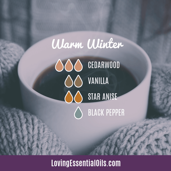 Warm Winter Diffuser Blend with Black Pepper by Loving Essential Oils