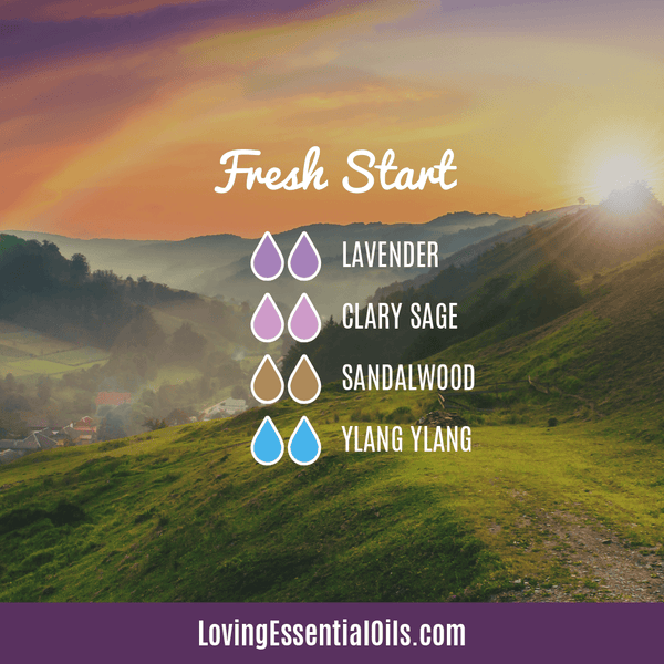 Essential Oil Diffuser Blends For Monday - Fresh Start by Loving Essential Oils