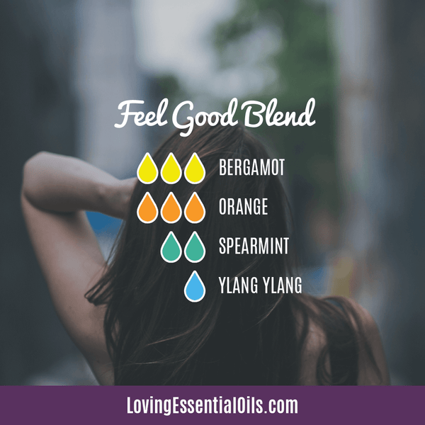 Diffuser Blends with Orange Essential Oil - Feel Good Blend