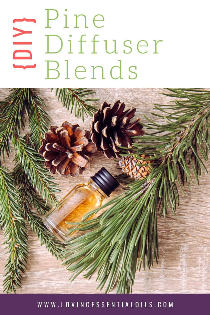 Diffuser Blends with Pine Essential Oil By Loving Essential Oils
