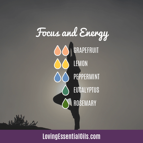 Diffuser Recipes for Yoga by Loving Essential Oils.