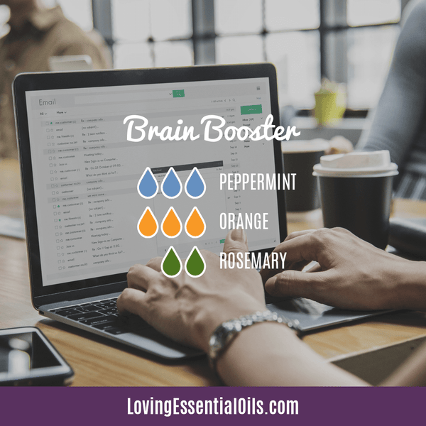 6 Benefits of Diffusing Peppermint Oil with Diffuser Blends by Loving Essential Oils | Brain Booster Diffuser Blend