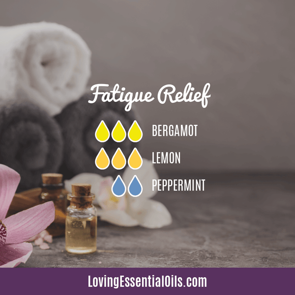 6 Benefits of Diffusing Peppermint Oil with Diffuser Blends by Loving Essential Oils | Fatigue Relief Diffuser Blend