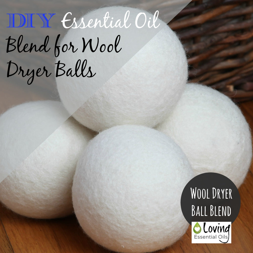 Wool Dryer Ball Essential Oil Blend