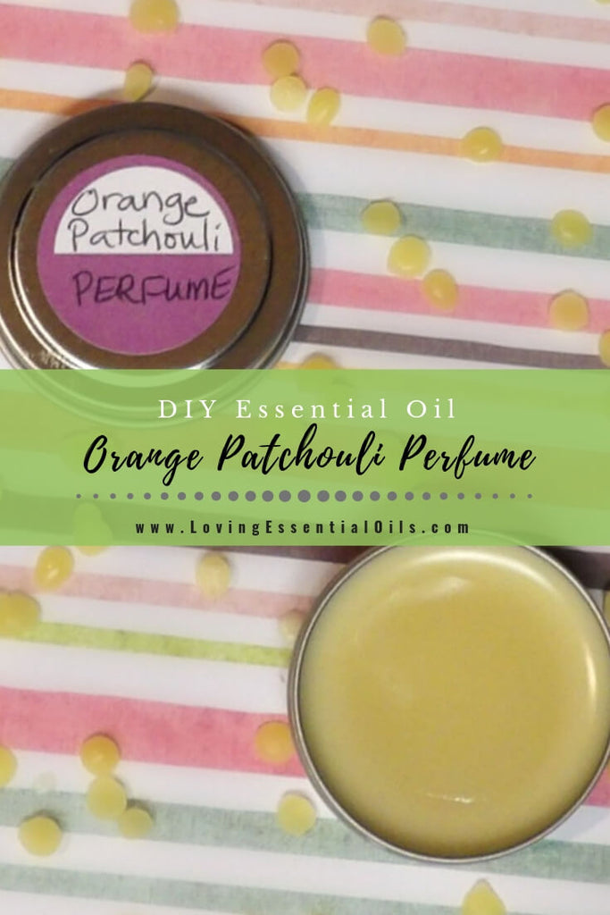 DIY Rose Patchouli Solid Perfume